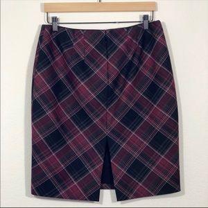 White House Black Market Skirts - 🌟BOGO FREE🌟 White House Black Market Plaid Skirt